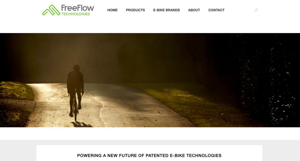 FreeFlow Technologies homepage rotating banner